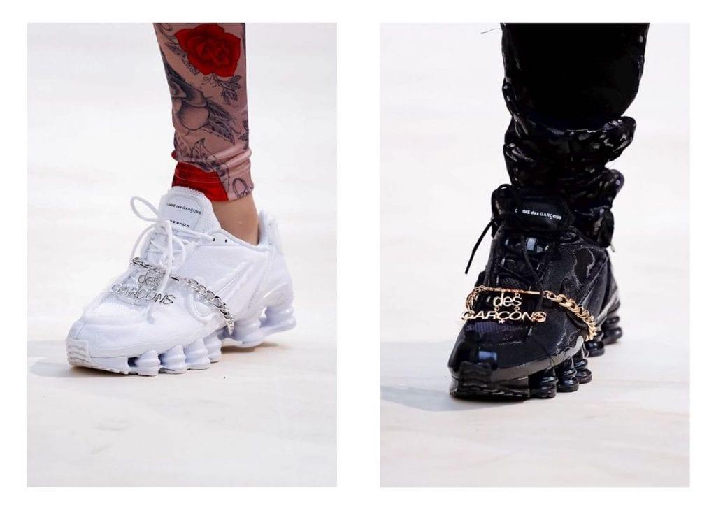 COMME des Garcons x Nike Shox