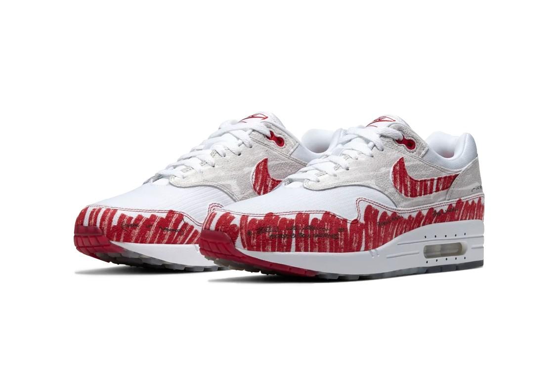 Nike Air Max 1 Sketch To Shelf 'Schematic' Sneaker Politics